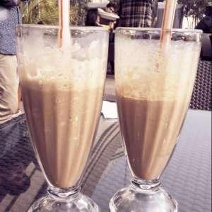 Belgian chocolate shake