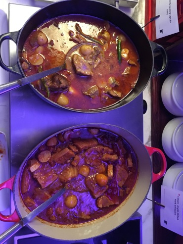 Top to Bottom: Railway Mutton Curry and Pork Vindaloo