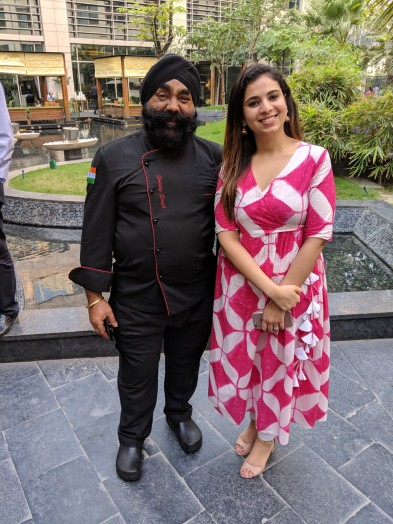 Chef Sweety Singh with Shagun Raizada, Founder - MyFoodProject